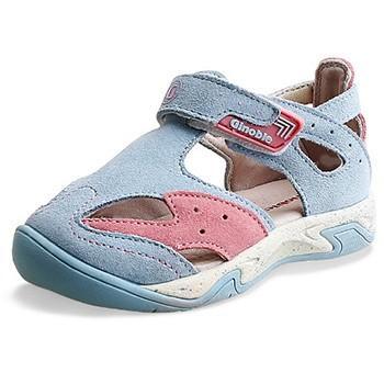 基诺浦 夏季全防护儿童皮凉鞋 139元包邮