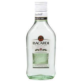 BACARDI 百加得 白朗姆酒 200ml *4件 80元(合20元/件)