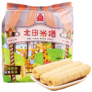 北田 米卷(蛋黄口味)150g *24件 205.6元(合8.57元/件)