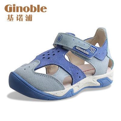 ¥139 基诺浦女宝宝男童鞋儿童凉鞋男童凉鞋牛皮女宝凉鞋