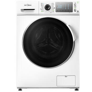 美的(Midea) MD80-11WDX 变频洗烘一体机 8公斤 直驱变频电机 智联控制 冷凝烘