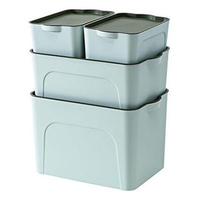Neyankex 加厚塑料收纳箱四件套 65.8元包邮(下单立减)