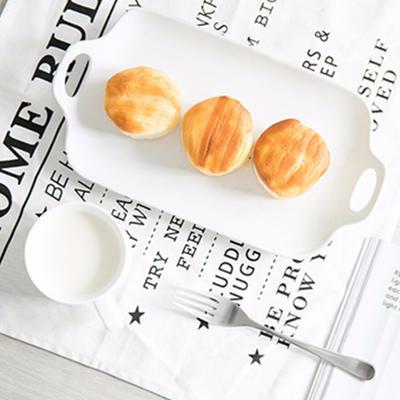 浓郁奶香!网易严选香蕉牛奶味天然酵母面包 限时特价9.9元