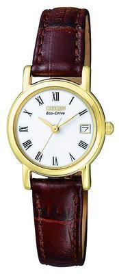 新低591.21元 Citizen Women s Eco-Drive Leather Watch 591.21元