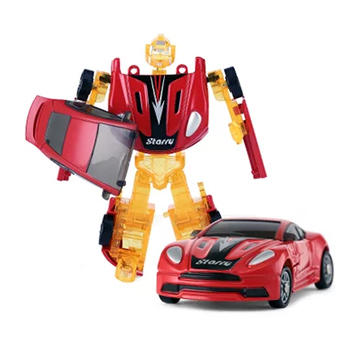 国美 rastar星辉 RS战警手动变形机器人1:64儿童玩具14.9元包邮(已降10元)