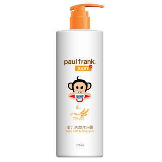 大嘴猴(paulfrank)婴儿洗发沐浴露310ml *7件 206元(合29.43元/件)