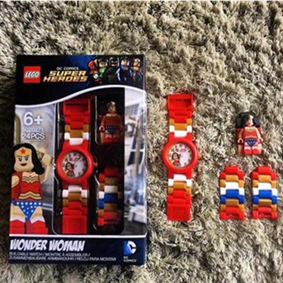 可玩性强!LEGO 乐高 神奇女侠儿童手表 凑单直邮到手111.54元