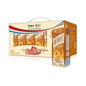 蒙牛 真果粒牛奶 250g*12盒 19.7元
