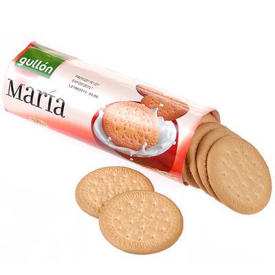 ¥5.9 【国美自营】西班牙进口 谷优Gullon 玛丽亚饼干200g 休闲零食