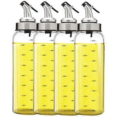 凤朗 高硼硅玻璃油瓶大号 500ml (4个装) 109元包邮(下单立减)
