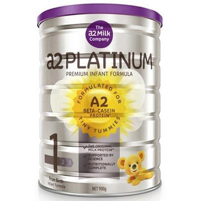 a2 艾尔 Platinum 白金版 婴幼儿奶粉 1段 900g 203.73元包邮含税