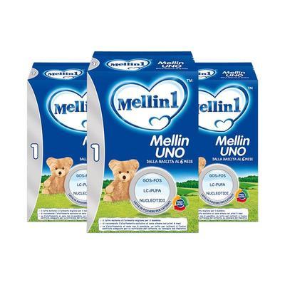临期品: Mellin 美林 婴幼儿配方奶粉 1段 800g*3罐装 *2件 132.11元含税包邮(合