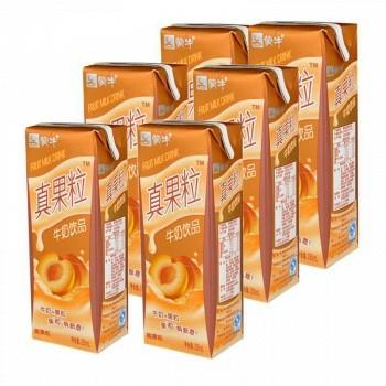 苏宁易购 蒙牛 真果粒牛奶(黄桃果粒) 250g*12盒19.7元(限地区)