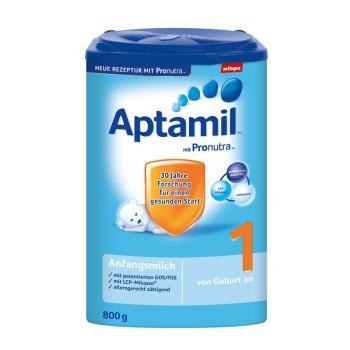Aptamil 爱他美 Pronutra 婴儿奶粉 1段 800g*3罐 272元包税包邮