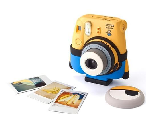 超萌超可爱!FUJIFILM 富士 instax mini 8 Checky 拍立得相机 小黄人特别版 629元包