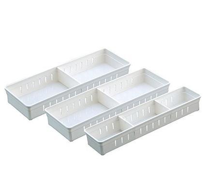 Prime会员免邮:Fasola 日式抽屉多用整理盒 三个装 38元