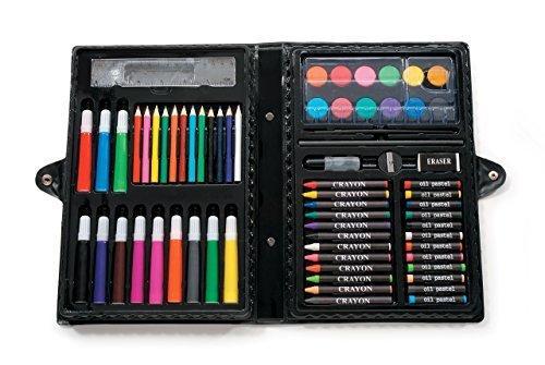 凑单品!Darice 便携式美术绘画工具盒68件套 47.01元