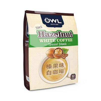 OWL猫头鹰 三合一榛果味速溶白咖啡 1000g 29.9元 可凑单包邮