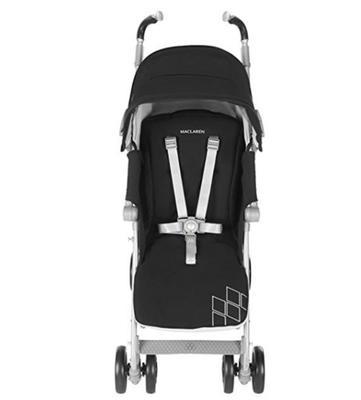 MACLAREN 玛格罗兰 Techno XT 婴儿推车 2017款 银黑色 ¥1649