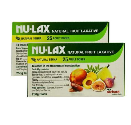 NU-LAX 天然果蔬乐康膏 250g*2盒 99元包邮含税