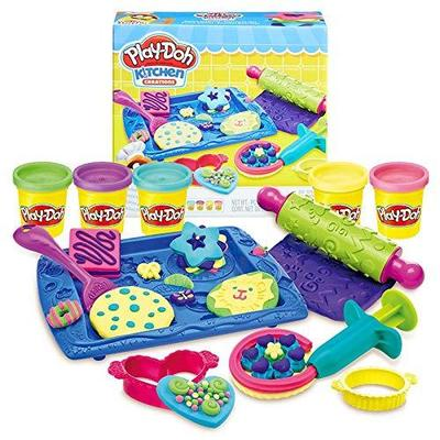 Play-Doh 培乐多 创意厨房系列 B0307 曲奇组合 彩泥 79元