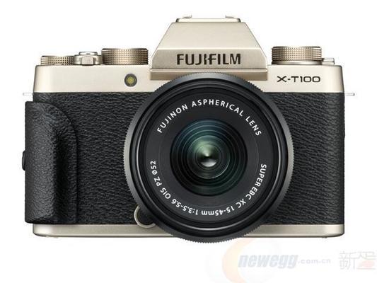 富士 FUJIFILM X-T100 XC15-45 微单相机 4620元包邮(需用码)
