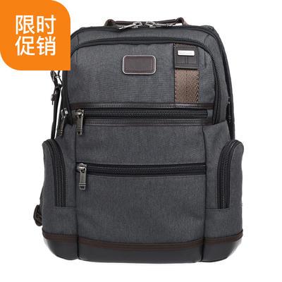 ¥1799 美国TUMI途明弹道尼龙男款双肩包灰色拼色0222681AT2