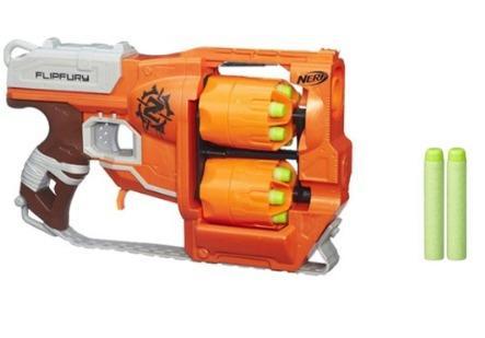 ¥99 Hasbro 孩之宝 NERF 热火 僵尸系列 逆袭发射器 B0562