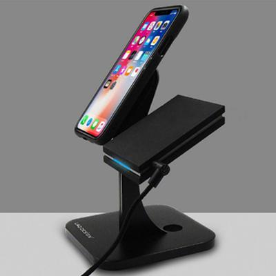 LAQ DESiGN苹果手表/手机充电底座铝合金展示支架 157.84元包邮(下单立减)