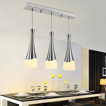 苏宁易购 雷士照明 酒杯创意三头餐厅吊灯*2件 +凑单品251.9元包邮(下单立