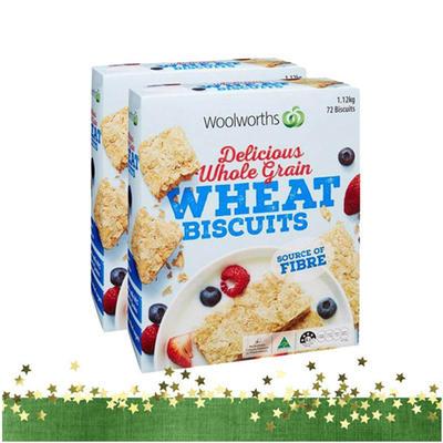 营养低脂!Woolworths全谷物即食麦片1.12千克*2盒 活动特价64元(需邮费)