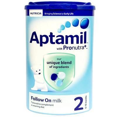 Aptamil 爱他美 婴幼儿奶粉 2段 900g 99.59元含税包邮