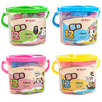 M&G 晨光 AKE04032 儿童手工橡皮泥 12色 1桶装 ¥3.25