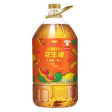 金龙鱼 压榨一级花生油 6.18L (京东定制装) 109.8元(需买2件,共219.6元包