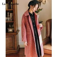 La Chapelle 拉夏贝尔 女士毛呢外套 914613514 ¥299