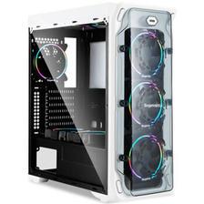 25日0点: Segotep 鑫谷 LUX重装版 机箱 白色 169元包邮