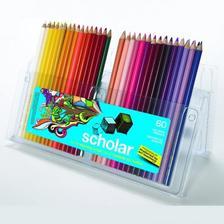 校园系列入门级人气款:Prismacolor 霹雳马 92808HT Scholar 硬芯彩色铅笔60支 亚