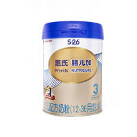 Wyeth 惠氏 膳儿加 幼儿配方奶粉 3段 900g ¥142.12