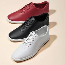多码,ECCO 爱步 Simpil简约系列 女士简约牛皮平底板鞋208613 ¥396.62
