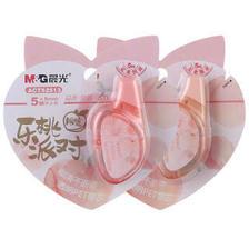 M&G 晨光 ACT52513 乐桃派对限定系列 5m*5mm 修正带 2.1元(需买12件,共25.2元)