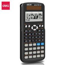 PLUS会员:得力(deli) JD991CN 科学函数计算器 75元