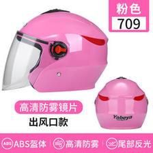 摩托车骑行头盔四季 ABS防撞材质 均码  券后54元