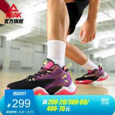 PEAK 匹克 态极闪电 男子篮球鞋 E02041A 黑色/紫罗兰 43 299元