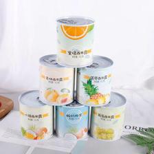 易睿兹 酸奶水果罐头6罐装 什锦菠萝 各一罐  券后26.9元