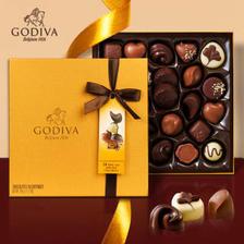 GODIVA 歌帝梵 夹心混合巧克力金装24枚  券后286.5元