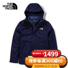 THE NORTH FACE 北面 4U7L 男子冲锋衣 ¥1499
