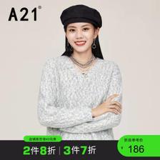 A21 R413243017 女士针织衫 204.37元(需买3件,共613.11元)