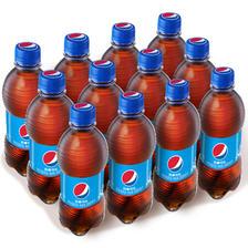 限地区、京东PLUS会员:PEPSI 百事 可乐 Pepsi 汽水 碳酸饮料整箱 300ml*12瓶*2件