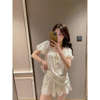 PEANOJEAN 6861 女士甜美优雅睡衣 ¥108
