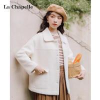La Chapelle 拉夏贝尔 女士短款毛呢外套 ¥199